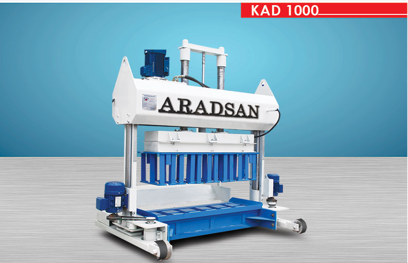 Machine De Fabrication De Blocs De Béton KAD1000 1