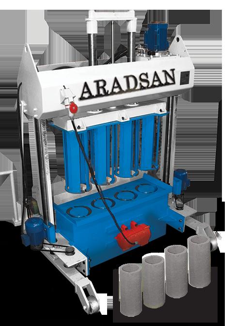 Incroyable Bloc Creux Machine De Fabrication à Bas Prix KAD1100 8